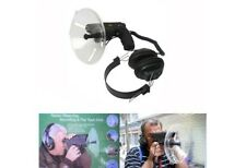 Telescope Parabolic Microphone Monocular X8 Bionic Long Range Spy Listening 100m