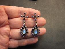 Nicky Butler NB Sterling Silver  Multi Gemstone  Earrings