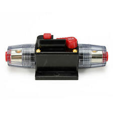 12V-24V DC Home Solar System Waterproof Circuit Breaker Reset Fuse Inverter