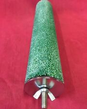 bird and parrot LARGE perch with grit 28 cm x 5 cm GREEN ONLY