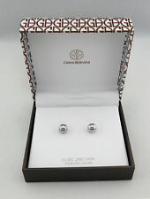 GIANI BERNINI  Sterling Silver Ball Stud Earrings $85 **NEW WITH TAG**