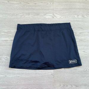 Hockey Republic Sport Wear Women's Skirt - Large L - Blue - Stretch