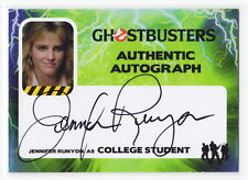 2016 Cryptozoic Ghostbusters Jennifer Runyon as College Student Autograph Card