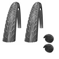 700c x 35mm New Pair Schwalbe Impac CrossPac Gravel CX City Bike Tyres