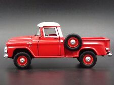 1959 GMC SMALL WINDOW STEP SIDE TRUCK 1:64 COLLECTIBLE DIORAMA DIECAST MODEL CAR
