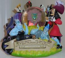 Disney Villians Fortune teller snowglobe, Maleficent, evil queen