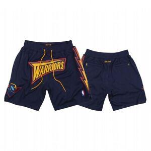 New Golden State Warriors Dark Blue Men Basketball Shorts Size:S-XXL