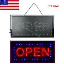 Ultra Bright Led Neon Light Animated Motion with Open Close Business Sign
