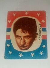 collectible card of the Great Uruguayan footballer ESPÁRRAGO