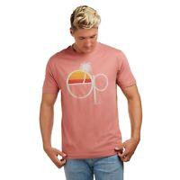 Ocean Pacific - Sunset - Official - Mens - T-shirt - Terracotta -S-XXL