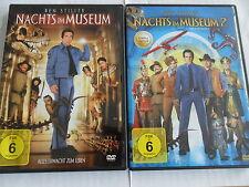 2x DVD Sammlung - NACHTS IM MUSEUM 1 + 2 (Ben Stiller) - Box-Set Deutsch