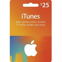CANADIAN ITUNES CARD $25 - CERTIFICATE ITUNE CANADA APP STORE Play RUSH WARS!!