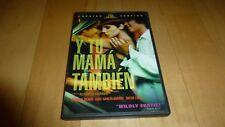 Y Tu Mama Tambien (Dvd, 2002, Unrated) Alfonso Cuaron Gael Garcia Bernal