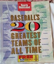 Sports Illustrated Presents Baseball's 20 Greatest Teams Of All Time (1991)