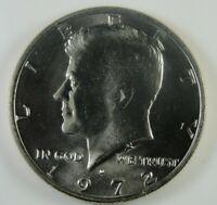 1972 D Kennedy Half Dollar Brilliant Uncirculated *HG