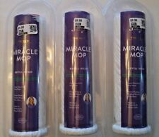 3  Joy Mangano The New Miracle Mop Refill Head  New in package Good Housekeeping