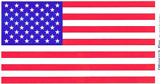 "American Flag Bumper Sticker 9/11 Tribute Patriotic 8"" x 4 1/4"" US Seller"