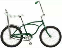 Schwinn StingRay Vintage Retro Classic Bicycle Sting Ray Boys Bike Green New