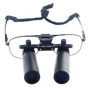 8.0X 420mm Metal Frame Dental Binocular Loupes Dentist Loupes Magnifier