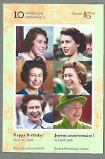 CANADA 2006 Booklet - THE QUEEN'S 80th BIRTHDAY - 10 x 51c. - Complete - MNH