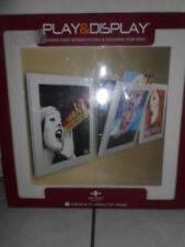"Art Vinyl Play & Display Record Album and 12"" Single Flip Frame WHITE"