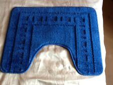Brand new - Toilet pedestal mat in navy blue