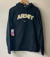 Nike Therma Army Black Knights Hoodie Sweatshirt Black Pullover - Large - NEW