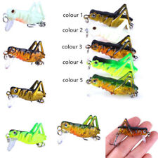 5PCS Sea Fishing Tackle Flying Fishing Lures Wobbler Lure Grasshopper Insects KY