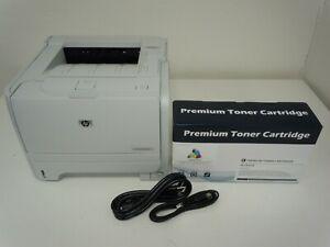 BUNDLE! HP LaserJet P2035N Printer with New 05A Toner Cartridge USB & Power Cord