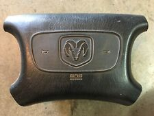 98 99 1999 DODGE RAM 1500 2500 3500 VAN DRIVER AIR BAG BLACK