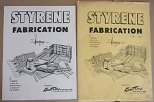 STYRENE FABRICATION  MANY PAGES OF HINTS, SUGGESTIONS, PHOTOS .. KEMTRON  MFG