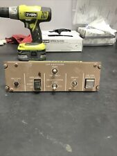 747-400 Module, Misc Switch from Flight Deck With Extra Capt Audio Switch