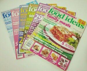 6 x SUPER FOOD IDEAS MAGAZINES - 2009