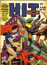 Hit Comics #20 Photocopy Comic Book Hercules, The Red Bee, Stormy Foster