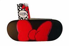 Disney Black Minnie Mouse Red Bow Hard Eyeglass Case