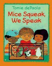 Mice Squeak, We Speak-ExLibrary