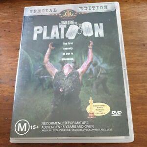 Platoon DVD  R4 Like New! – FREE POST