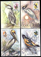 Rumänien 4149/54 MaximumkarteJohn James Audubon