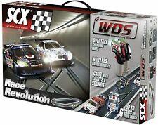 SCX Digital WOS 1/32 Race Revolution Slot Car Set w Corvette & BMW #W10134 NEW!