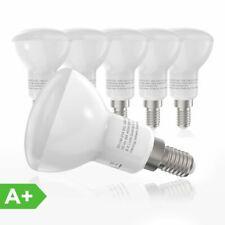 5er Set 4 Watt LED Filament Leuchtmittel 400 Lumen Spiegel Kopf Lampen rund E14