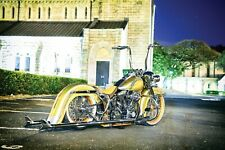 Harley Davidson Softail Heritage Classic FL Fiberglass Rear Cholo Fender