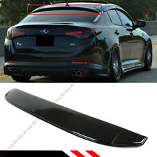 FOR 2011-15 KIA OPTIMA GLOSS BLK REAR WINDOW VISOR ROOF SPOILER WING DEFLECTOR