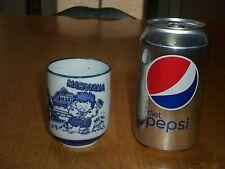Japan, Ceramic, Sake Animated Character'S Cup, Vintage Sake Barware