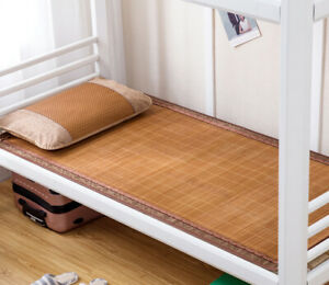 student bed mat cool feeling summer bamboo mat double faces on sales multi-size