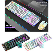 Wireless Keyboard and Mouse 2.4GHz Silent USB Wireless Keyboard Mouse Combo