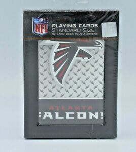 Atlanta Falcons 1 Deck Playing Cards Sealed Official NFL Standard Poker PSG NEW