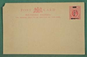 SOUTHERN NIGERIA STAMP COVER STATIONARY CARD UNUSED  (Z6)