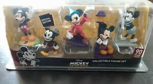 Disney Mickey Mouse 90th Years Of Magic Special Edition Collectible Figure Set