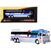 1970 MCI MC-7 Challenger Intercity Coach Bus Greyhound Canada White and Silve...