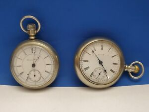 Hampden & Elgin pocket watches